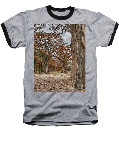 Fall In Texas  Baseball T-Shirt
