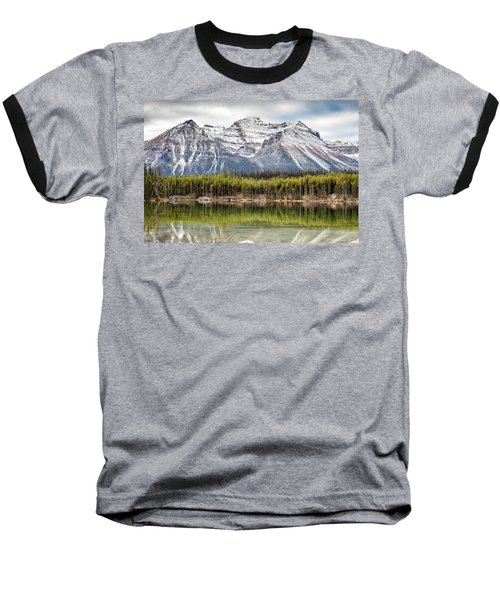 Fall In The Canadian Rockies Baseball T-Shirt by Pierre Leclerc Photography