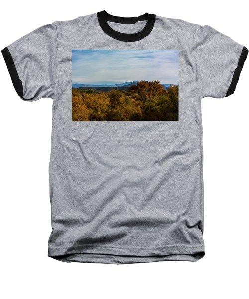 Fall In The Desert Baseball T-Shirt