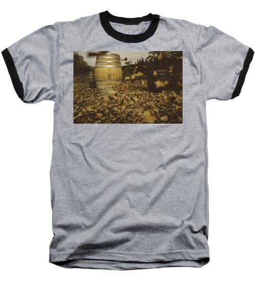 Fall In The Garden Baseball T-Shirt by Cesare Bargiggia