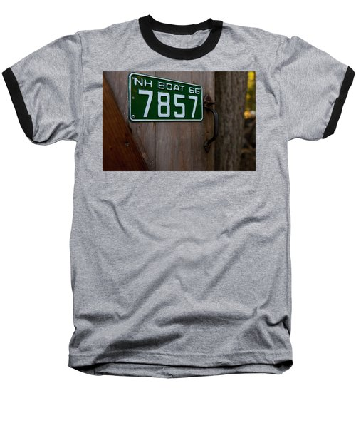 Fall In The Lakes Region Baseball T-Shirt
