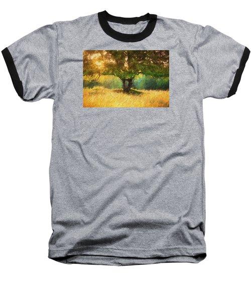 Fall In The Meadow Baseball T-Shirt