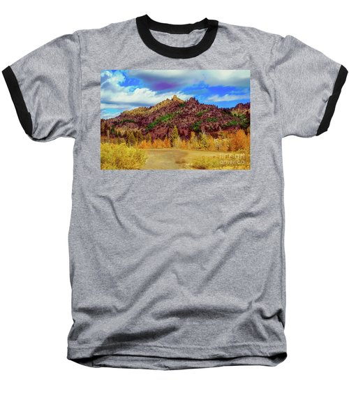 Fall In The Oregon Owyhee Canyonlands  Baseball T-Shirt by Robert Bales