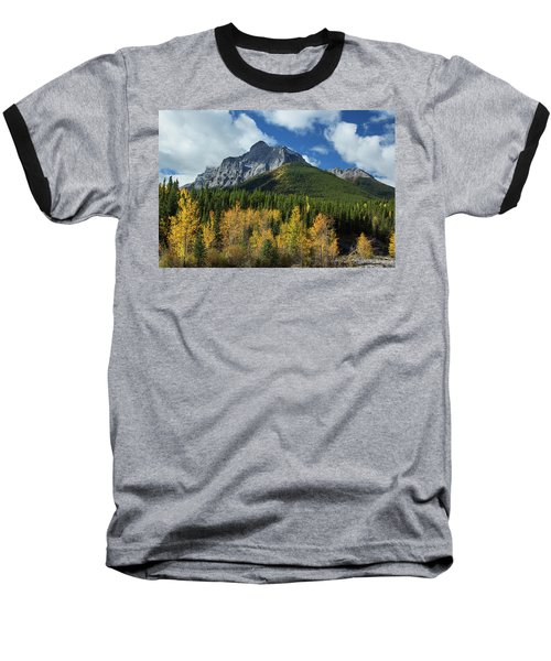 Fall In The Rockies Baseball T-Shirt