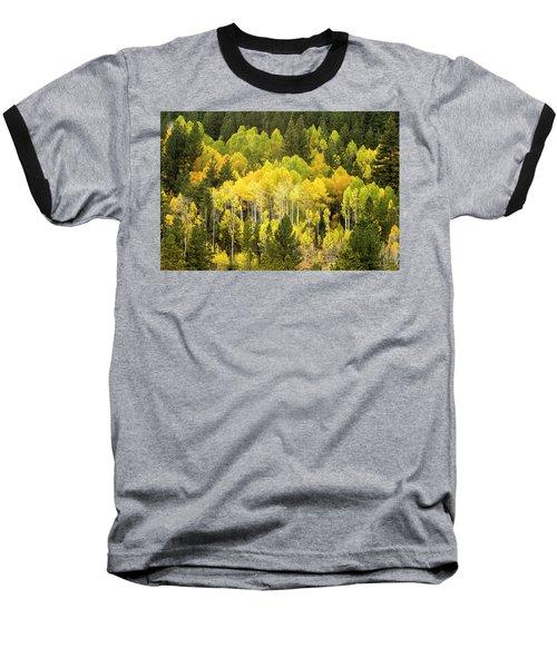 Fall In The Sierras Baseball T-Shirt