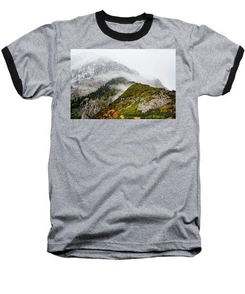 Fall Into Winter Baseball T-Shirt