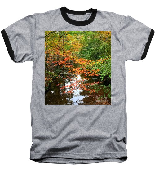 Fall Is In The Air Baseball T-Shirt