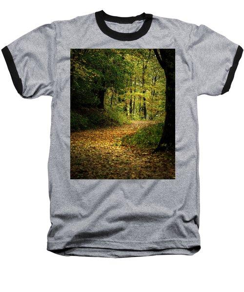 Fall Is Just Around The Corner Baseball T-Shirt