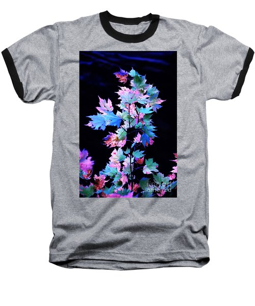 Fall Leaves1 Baseball T-Shirt