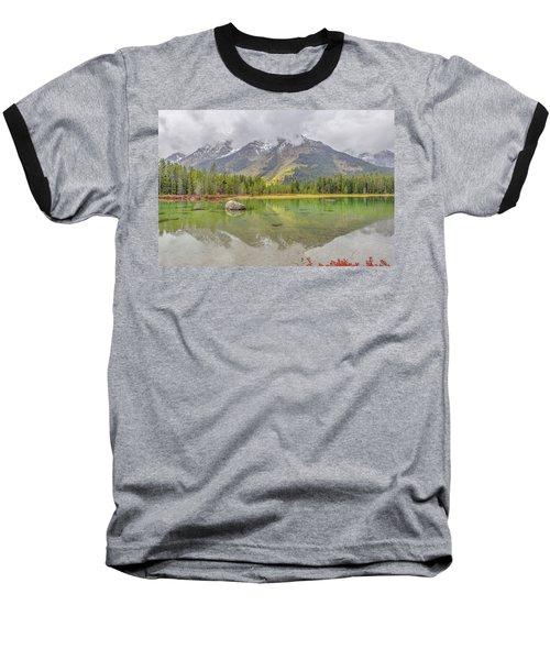 Fall Morning Along String Lake Baseball T-Shirt