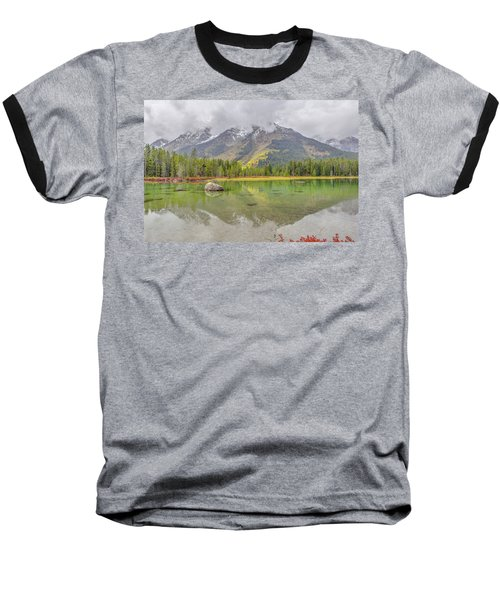 Fall Morning Along String Lake Baseball T-Shirt