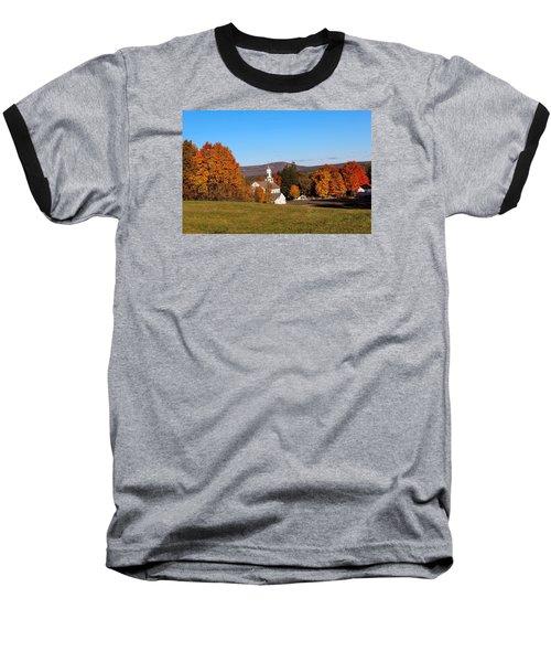 Fall Mountain View Baseball T-Shirt