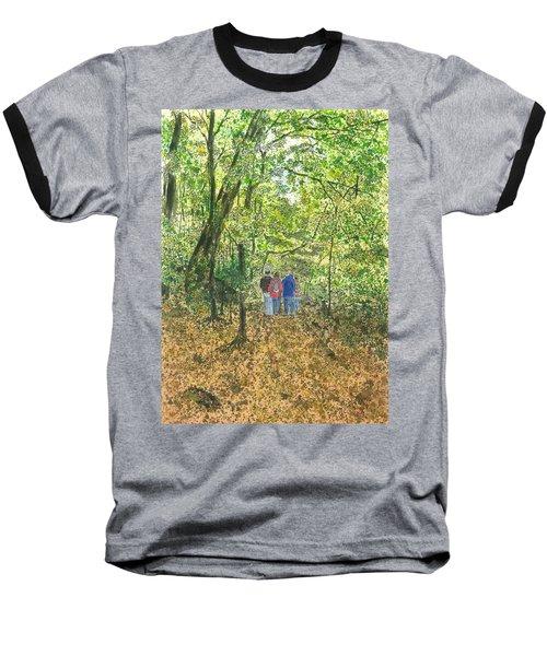 Fall Nymphs - IIi Baseball T-Shirt by Joel Deutsch