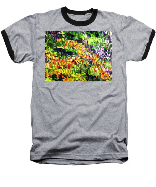 Baseball T-Shirt featuring the photograph Fall On The Pond by Melissa Stoudt