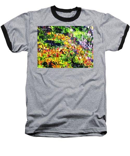 Fall On The Pond Baseball T-Shirt