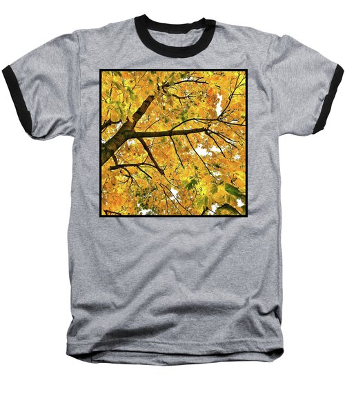 Fall On William Street Baseball T-Shirt