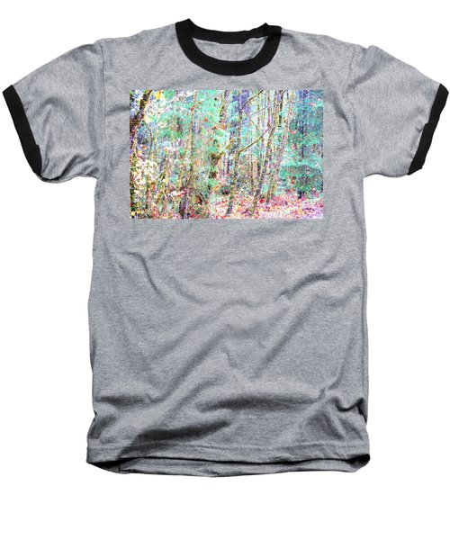 Fall Oregon Forest Baseball T-Shirt