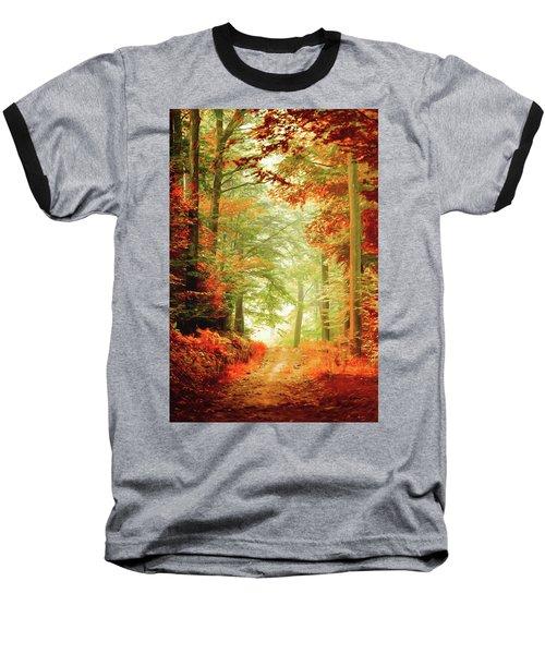 Fall Painting Baseball T-Shirt