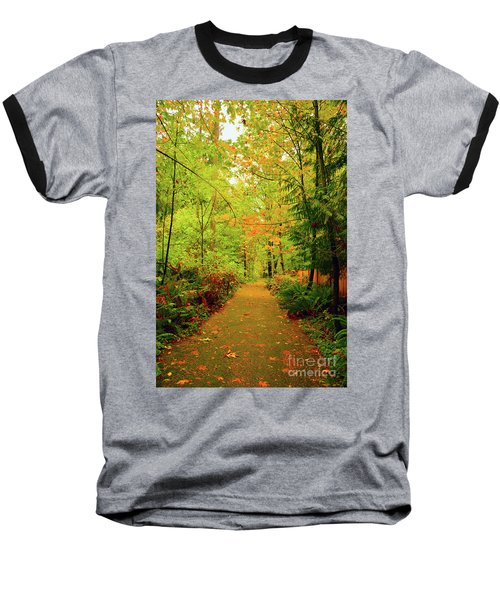 Fall Path Too Baseball T-Shirt