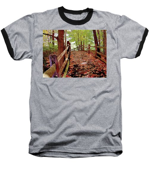 Fall Pathway Baseball T-Shirt