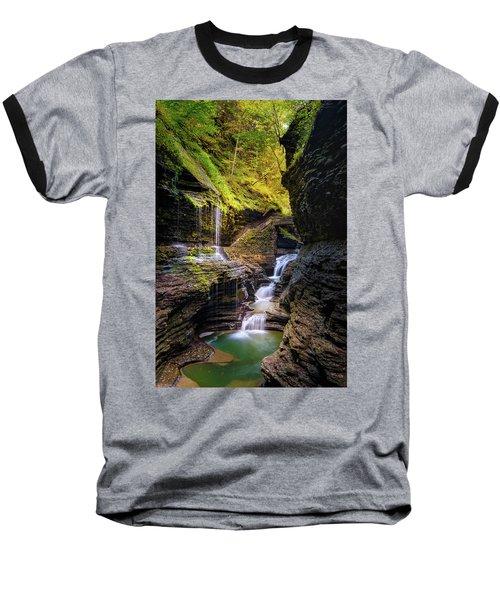 Fall Rainbow Baseball T-Shirt