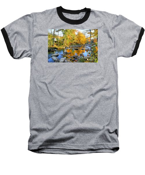 Fall Reflections In Jackson Baseball T-Shirt