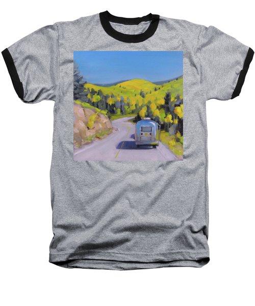 Fall Road Trip Baseball T-Shirt