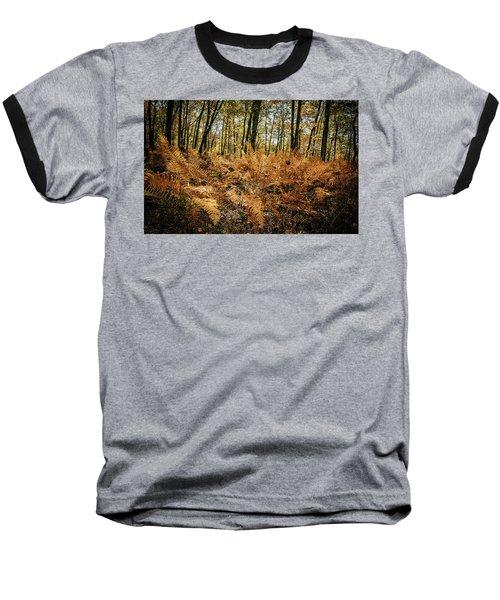 Fall Rust Baseball T-Shirt