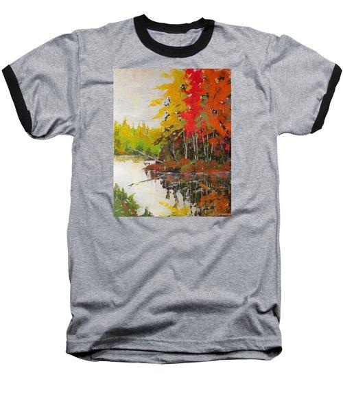 Fall Scene Baseball T-Shirt