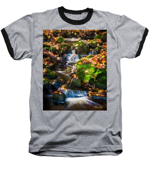 Fall Seasonal Water Cascade Baseball T-Shirt