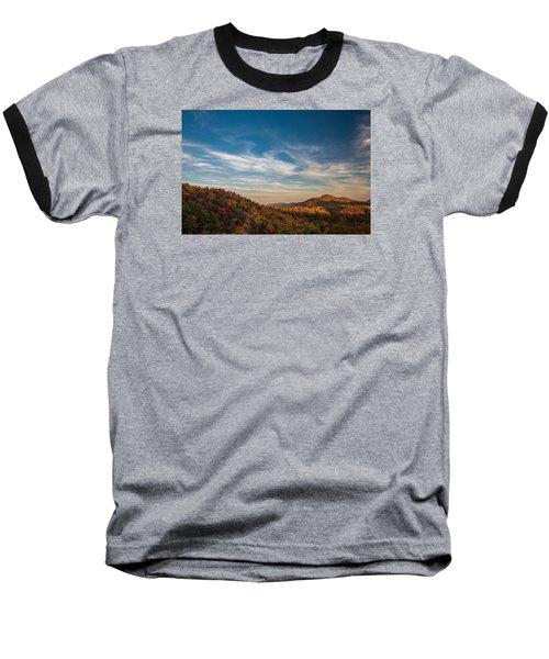 Fall Skies Baseball T-Shirt