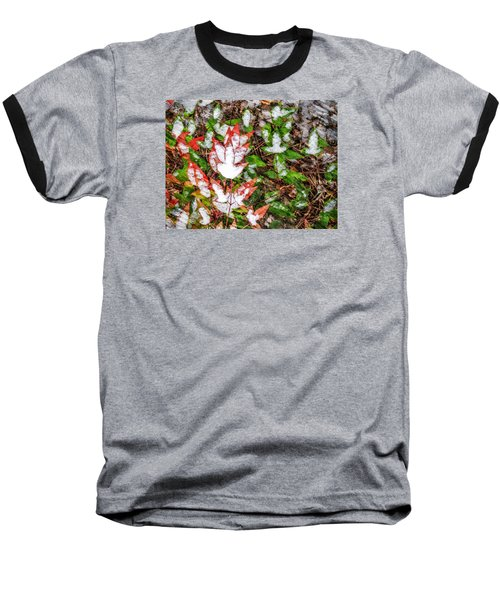 Fall Snow Baseball T-Shirt