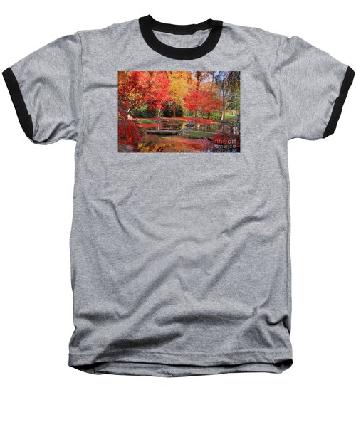 Baseball T-Shirt featuring the photograph Fall Spendor by Geraldine DeBoer