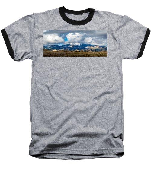 Fall Storm Clearing Off Pintada Mountain Baseball T-Shirt by John Brink