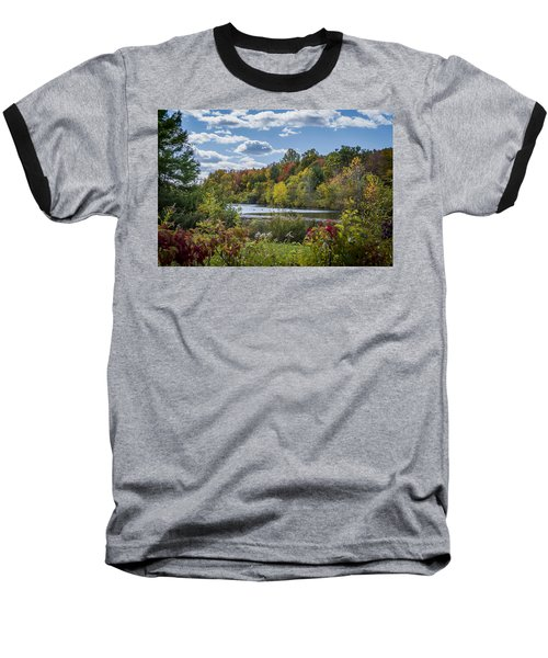 Fall Time On The Lake Baseball T-Shirt