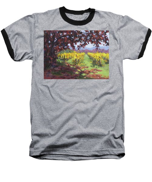 Fall Vineyard Baseball T-Shirt