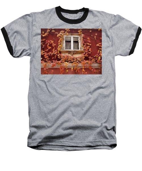Fall Window,prague Baseball T-Shirt
