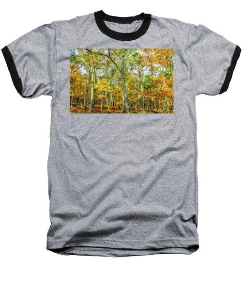 Fall Yellow Baseball T-Shirt