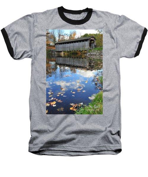 Fallasburg Covered Bridge 16 Baseball T-Shirt