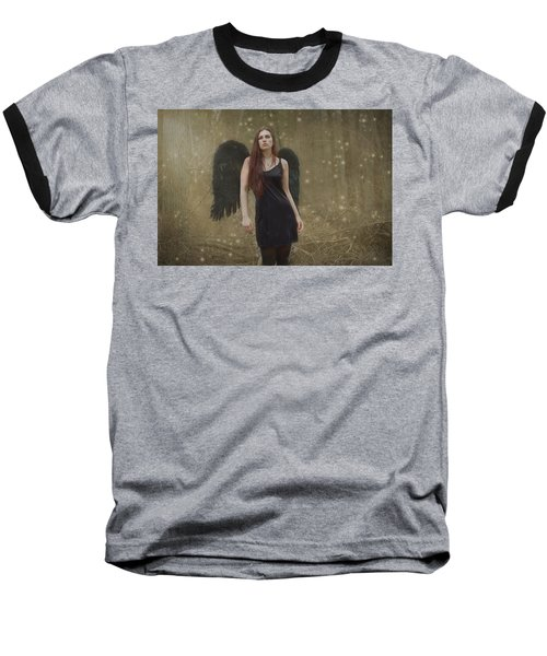 Baseball T-Shirt featuring the photograph Fallen Angel by Brian Hughes