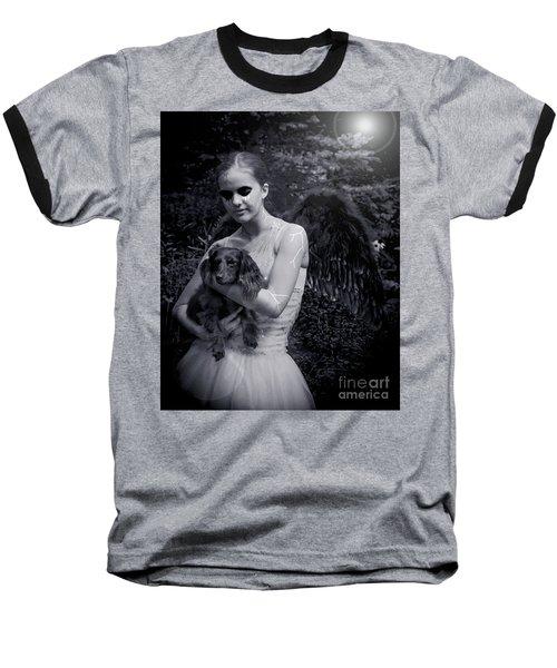 Baseball T-Shirt featuring the photograph Fallen Angel by Rebecca Margraf
