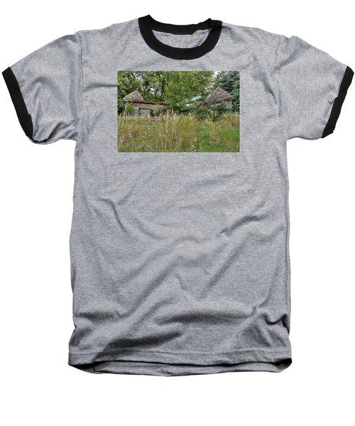 Fallen Barn Baseball T-Shirt