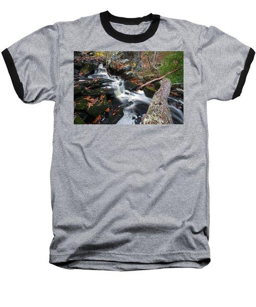 Fallen In Danforth Falls Baseball T-Shirt