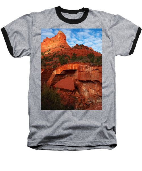Baseball T-Shirt featuring the photograph Fallen by James Peterson