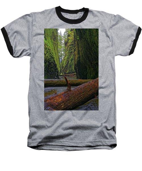 Baseball T-Shirt featuring the photograph Fallen by Jonathan Davison