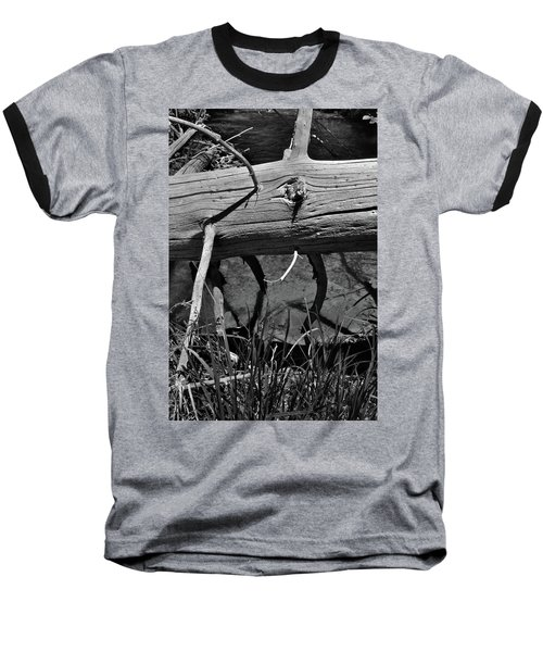 Baseball T-Shirt featuring the photograph Fallen Spruce by Ron Cline