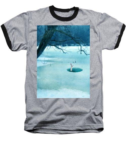 Fallen Through The Ice Baseball T-Shirt