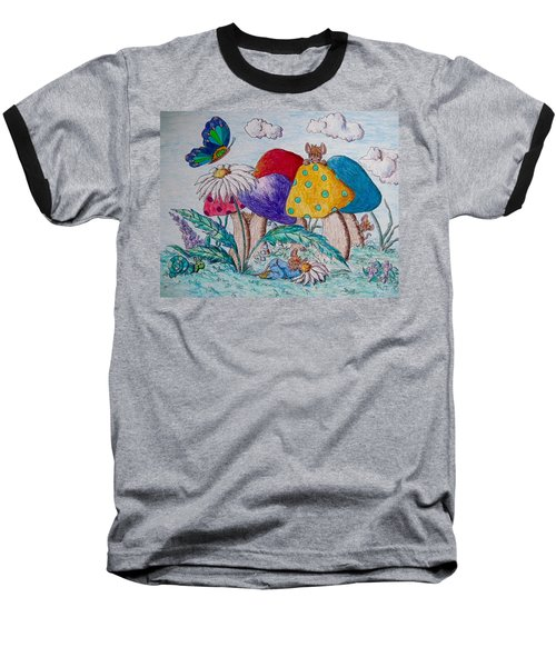 Falling Asleep Playing Hide And Seek Baseball T-Shirt