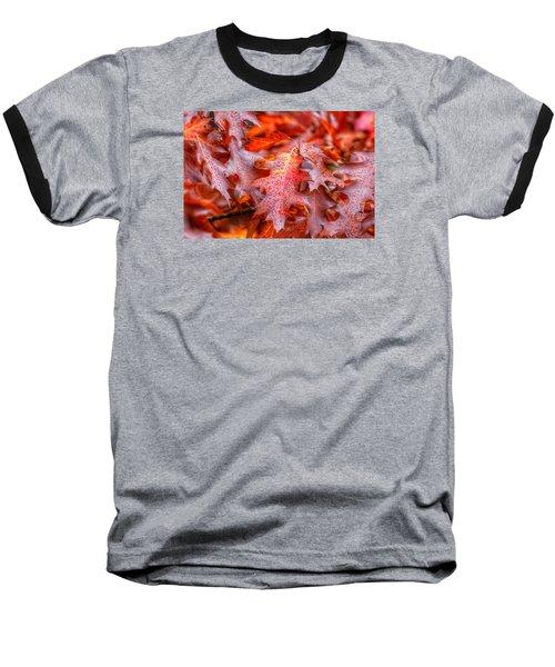 Falling For You Baseball T-Shirt by Lynn Hopwood