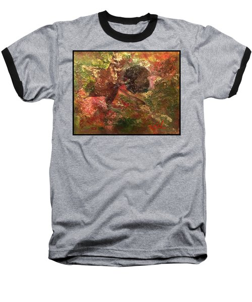 Baseball T-Shirt featuring the mixed media Falling In Love  by Delona Seserman